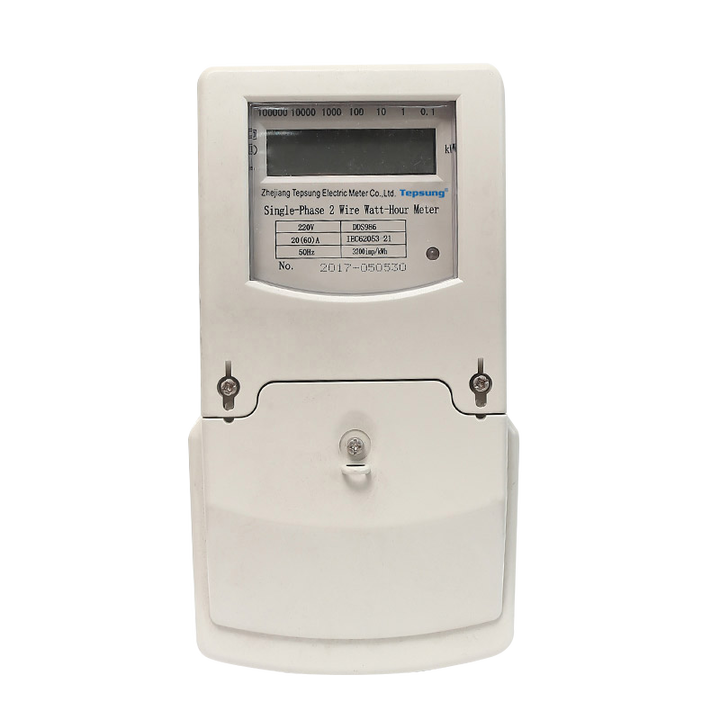 What are the classifications of electric energy meters?